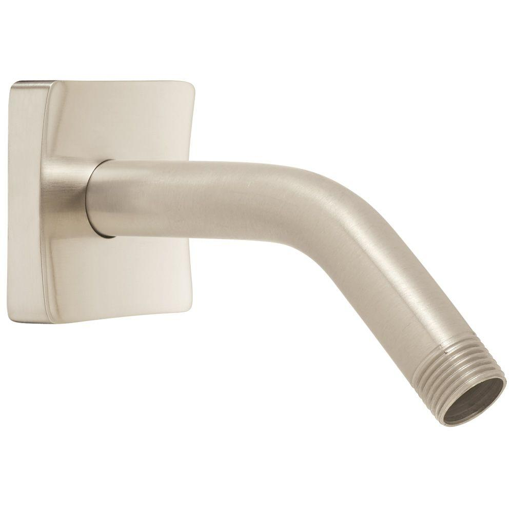 Speakman The Edge Shower Arm and Flange in Brushed Nickel