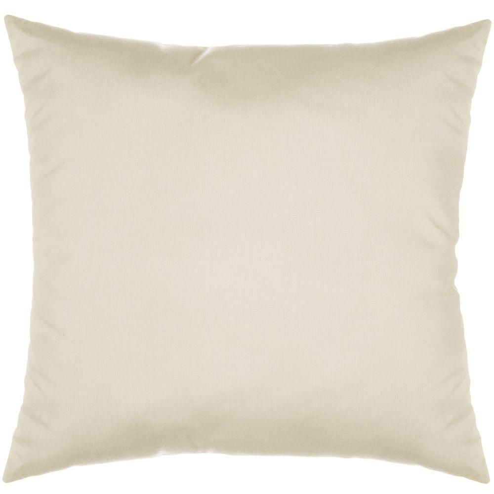 Pawleys Island 18 in. x 18 in. Spectrum Eggshell Decorative Pillow