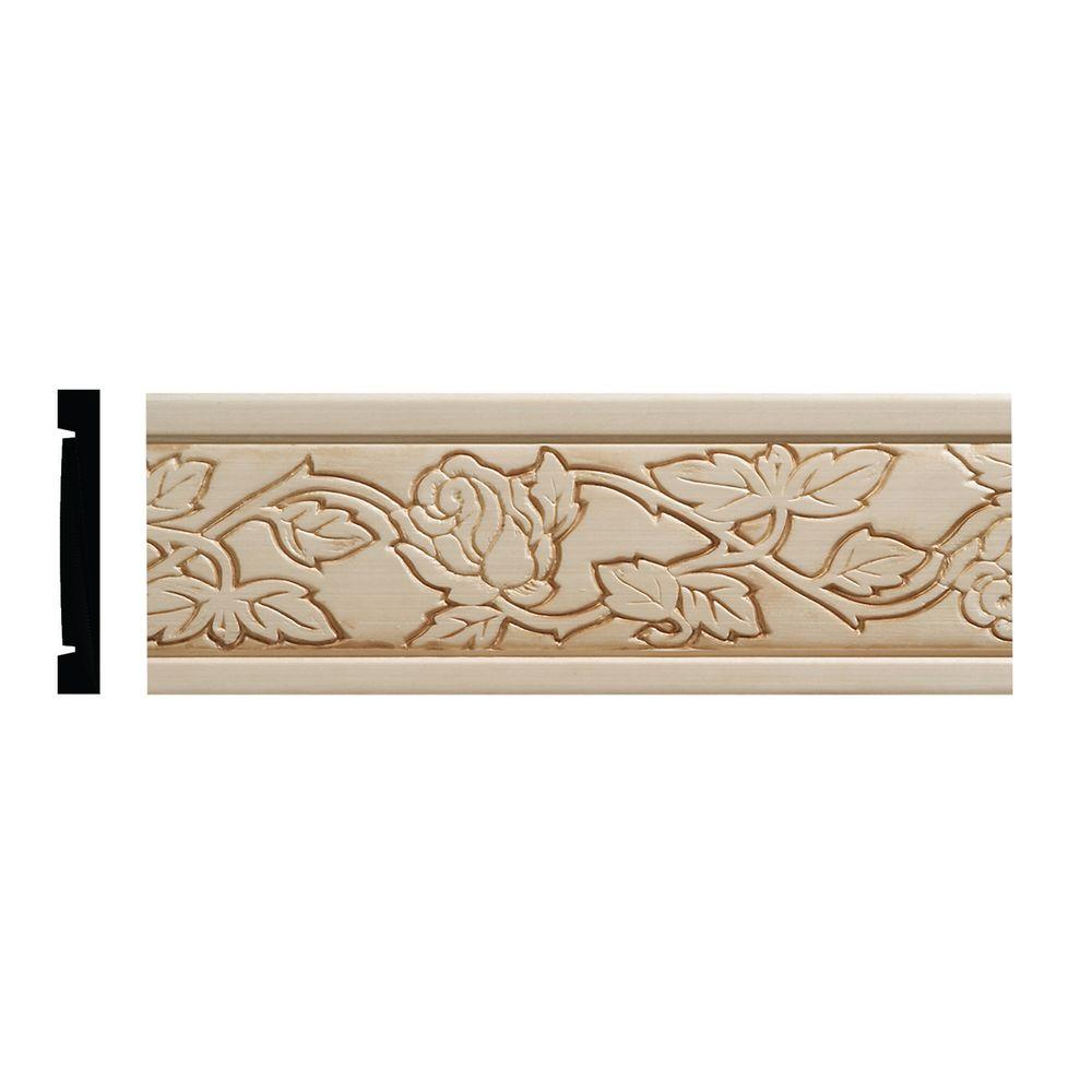 Ornamental Mouldings 986 11/32 In. X 2-1/2 In. X 96 In