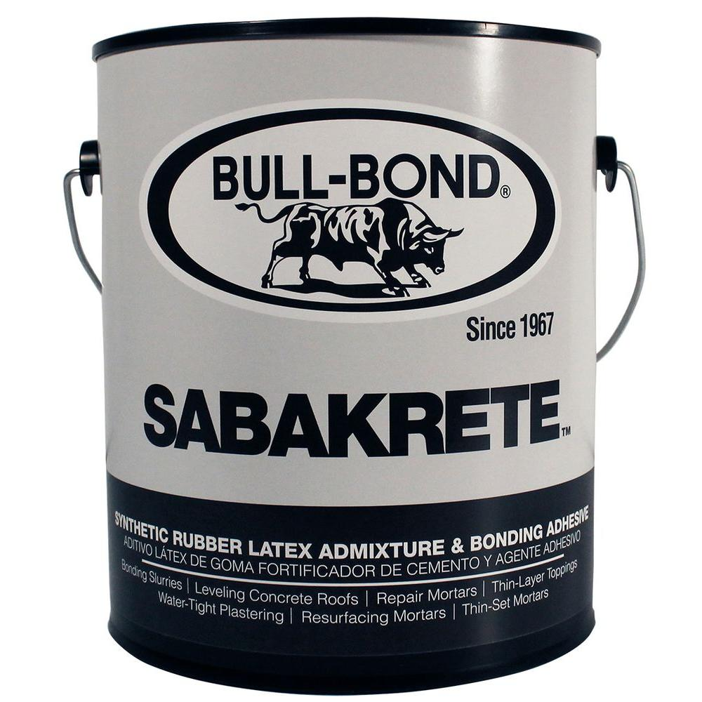 Sabakrete 1 Gal. Synthetic Rubber Latex Admixture and Bonding Agent
