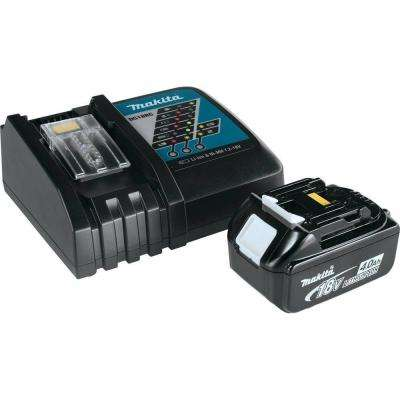 18-Volt LXT Lithium-Ion 4.0Ah Battery and Charger Starter Pack