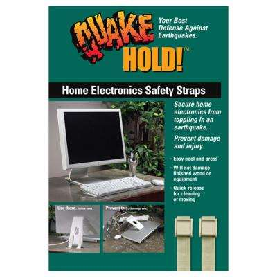 Multi-Use Electronic Safety Straps Beige - Computer