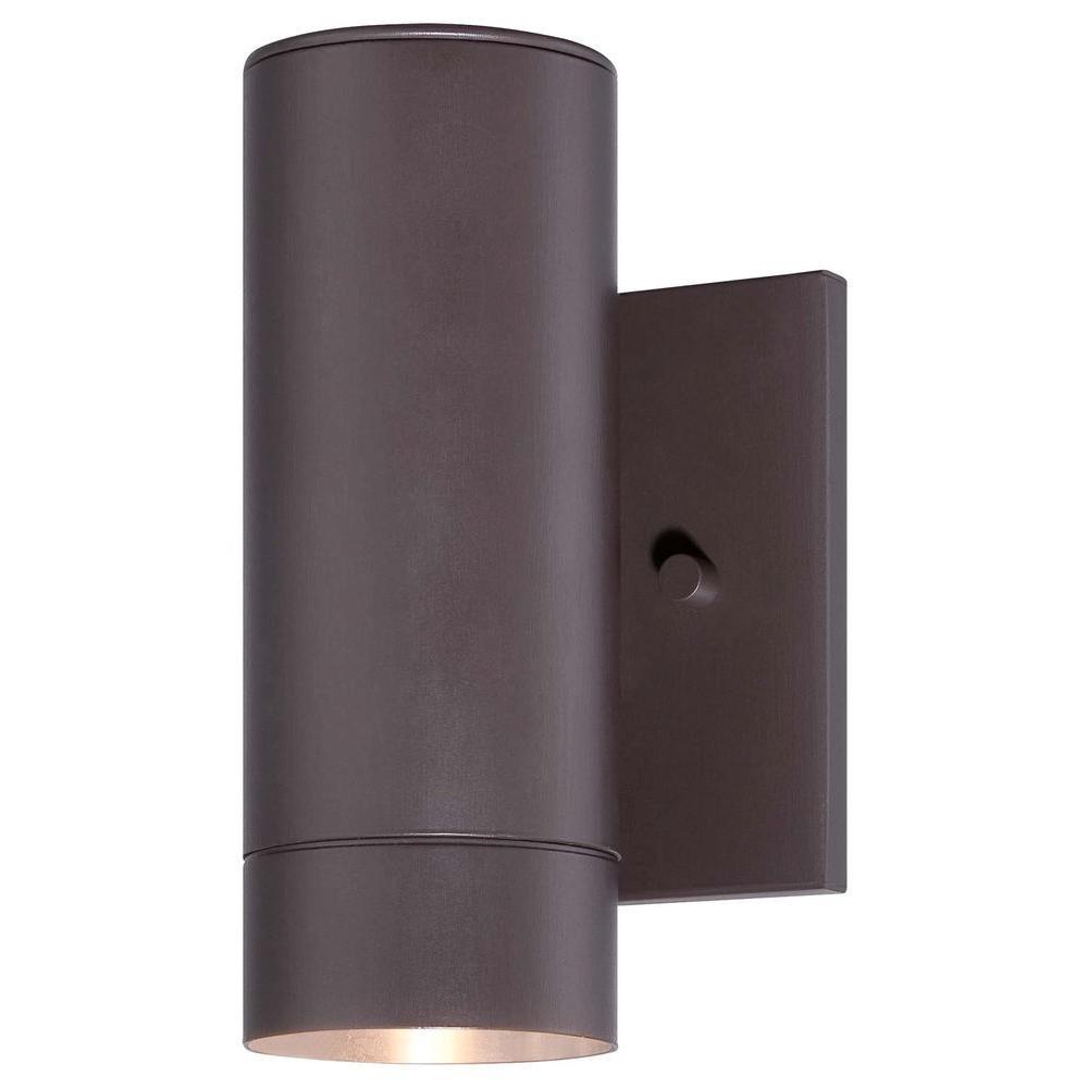 Skyline 1-Light Dorian Bronze Outdoor Integrated LED Wall Mount Light