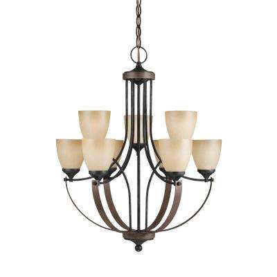 Corbeille 9-Light Stardust Chandelier with LED Bulbs