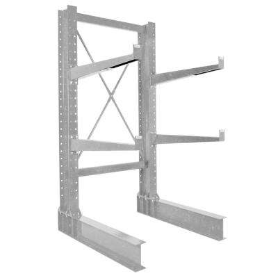 72 in. x 36 in. Galvanized Single Sided Heavy Duty Cantilever Starter Unit