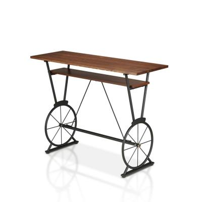 Cera Toasted Barnwood Counter Height Dining Table