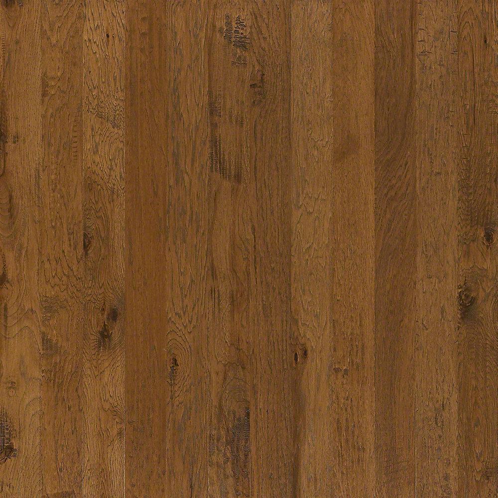 Western Hickory Espresso 3/8 in. T x 3-1/4 in. W x Random Length Engineered Hardwood Flooring (23.76 sq. ft. / case)