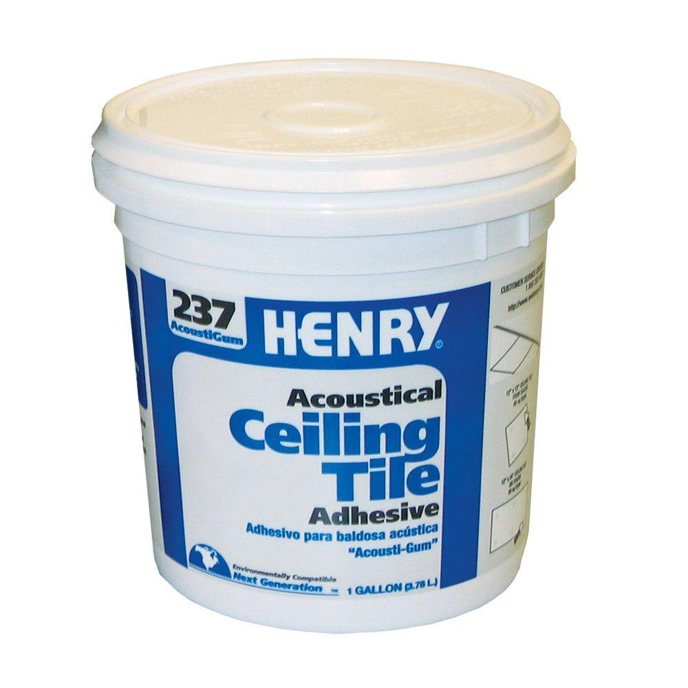 Henry 237 1 Gal Acoustical Ceiling Tile Adhesive 12016 The Home Depot