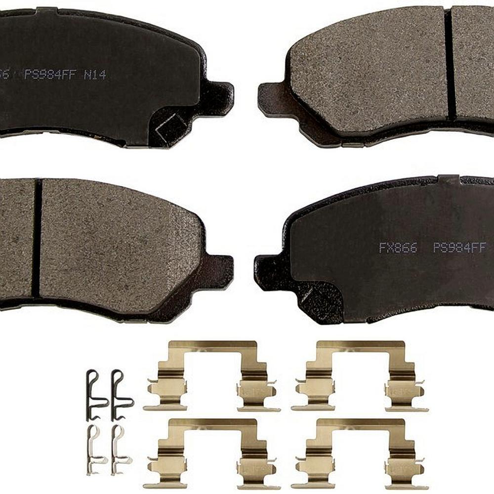 Front ProSolution Semi-Metallic Brake Pads fits 2000-2016 Mitsubishi Eclipse Galant Lancer