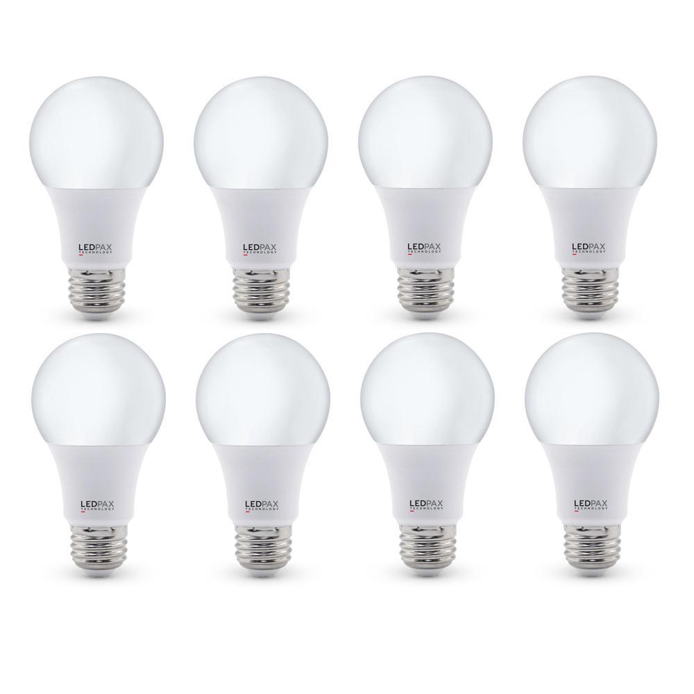 60-Watt Equivalent A19 LED Light Bulb (8-Pack)