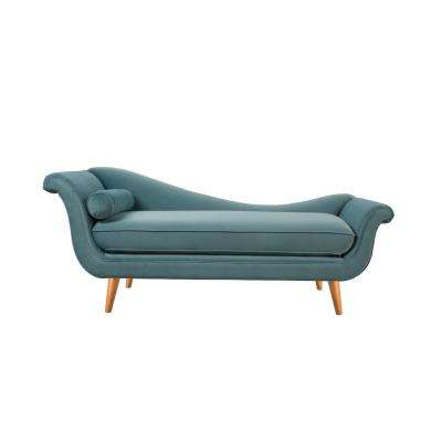 Arctic Blue Kai Chaise Lounge