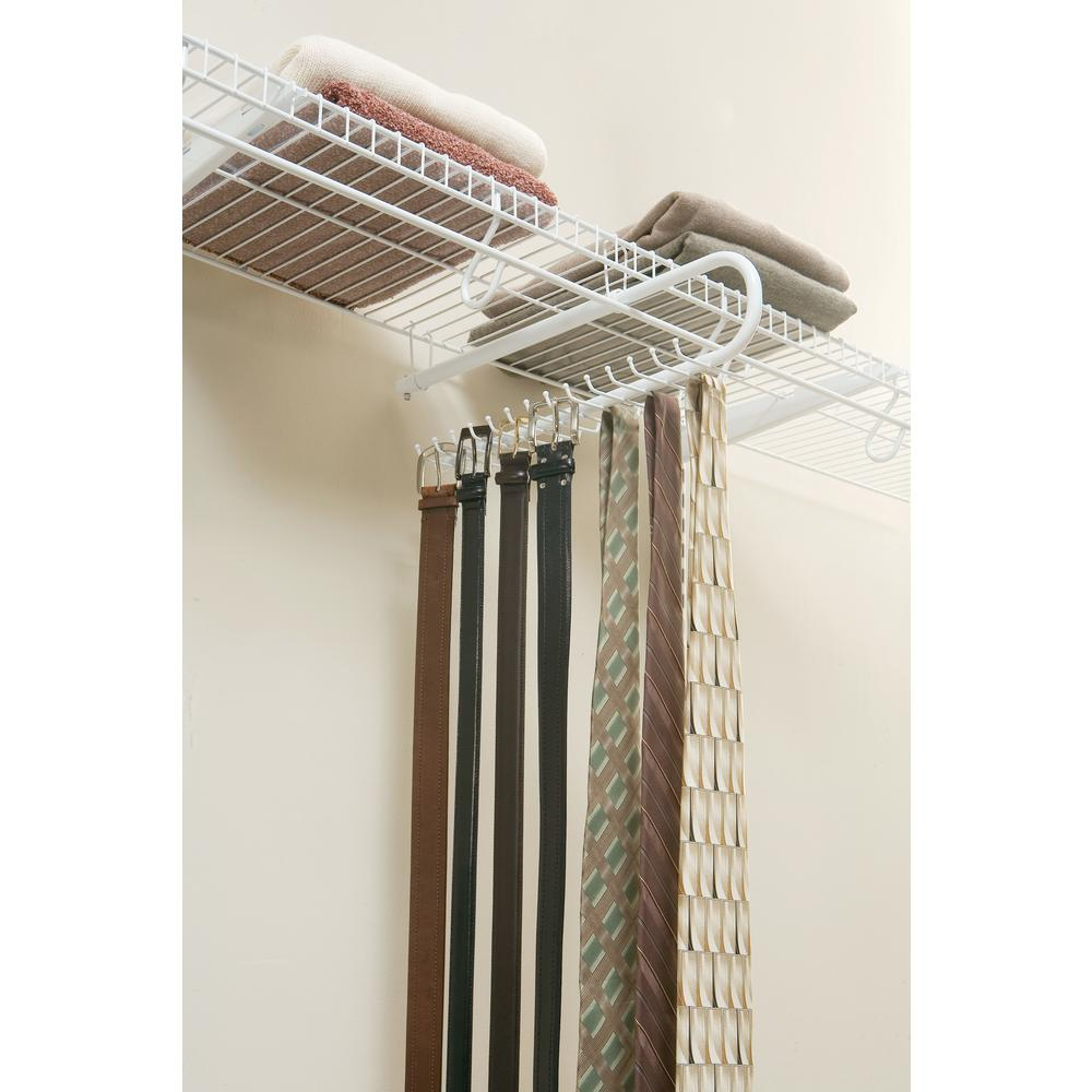 Rubbermaid 30 Hook Tie Belt Rack Organizer