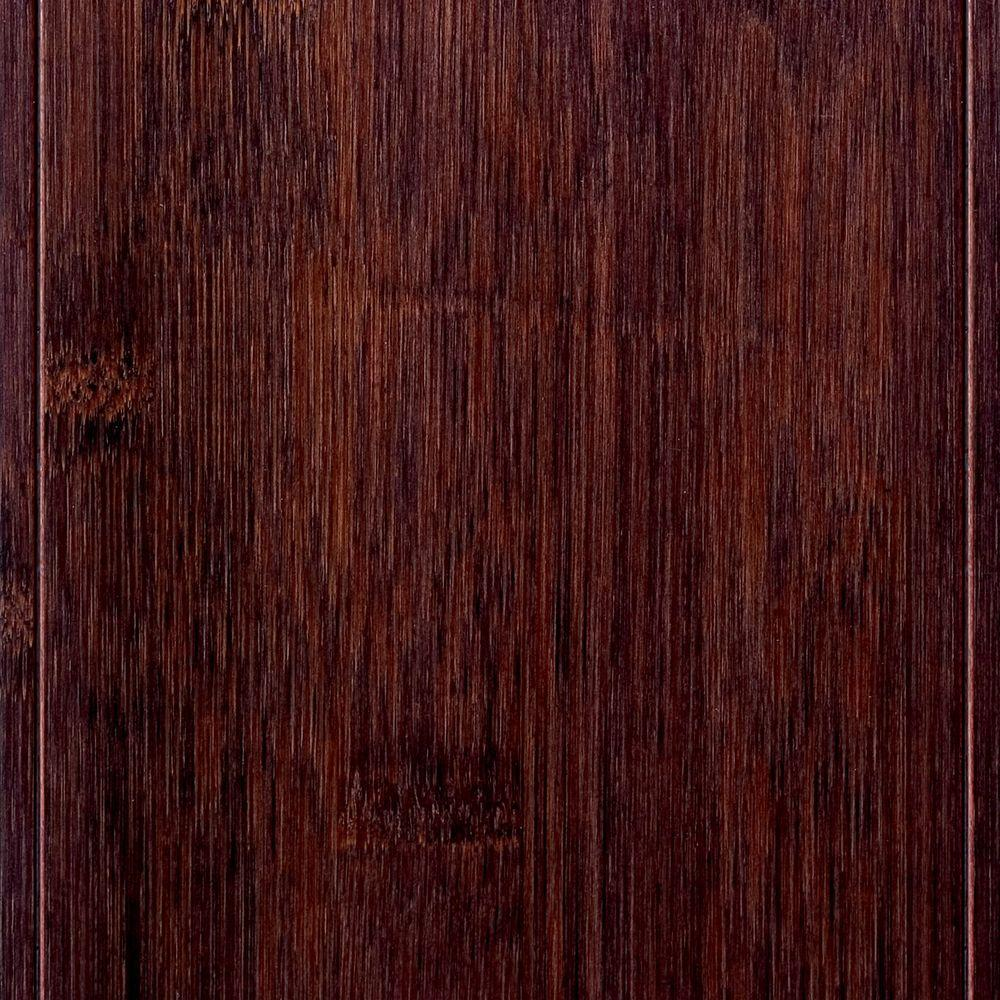 Home Decorators Collection Hand Scraped Horizontal Cafe 3/8 in. x 5 in. Wide x 38-5/8 in. Length Click Lock Bamboo Flooring (21.44 sq. ft. / case)