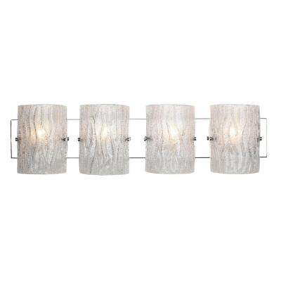 Brilliance 4-Light Chrome Bath Light