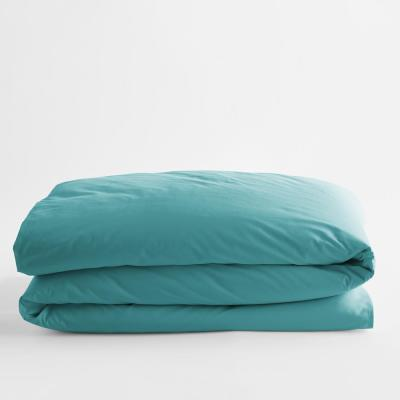 Company Cotton Seaside Solid Percale Full Duvet Cover