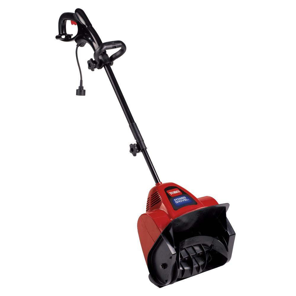 Toro Power Shovel 12 in. 7.5 Amp Electric Snow Blower-38361 - The ...