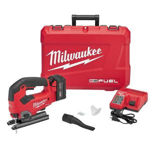 M18 FUEL 18-Volt Lithium-Ion Brushless Cordless Jig Saw Kit With (1) 5.0Ah Battery, Charger and Case