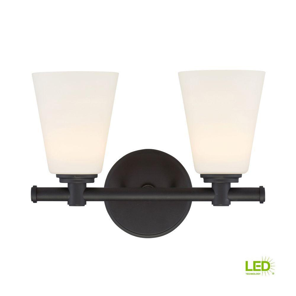 Parker Oil Rubbed Bronze Interior LED Bath Vanity Light