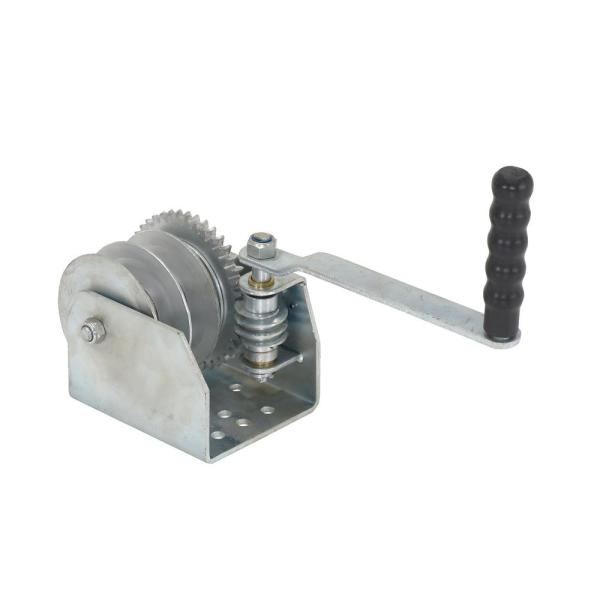 Wall Mounted Hand Winch - Double