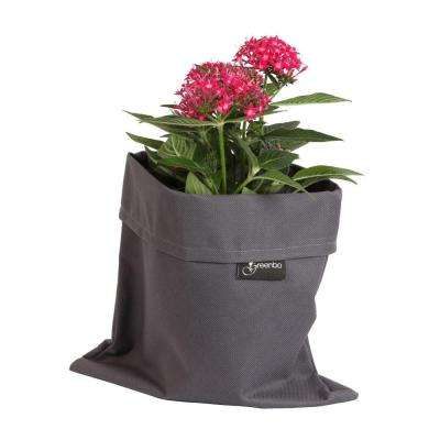 8 in. x 10 in. Dark Gray Water and Stain Resistant Fabric Fiorina Planter Case (2 pack)