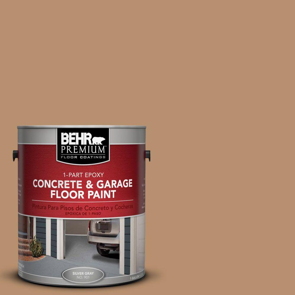 BEHR Premium 1 gal. #PFC-18 Sonoma Shade 1-Part Epoxy Concrete and Garage Floor Paint