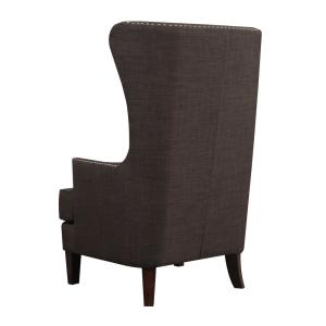 Internet #304196846. +6. Kegan Chocolate Accent Chair