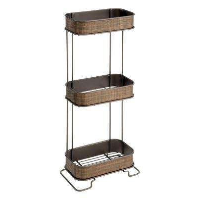 Twillo 3-Tier Shelf in Bronze