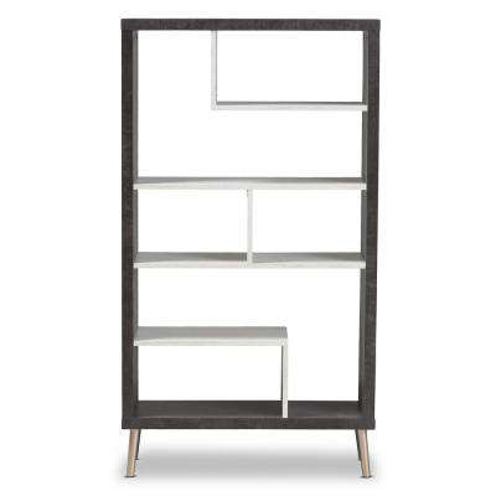 Atlantic Dark Brown/Light Grey Shelf