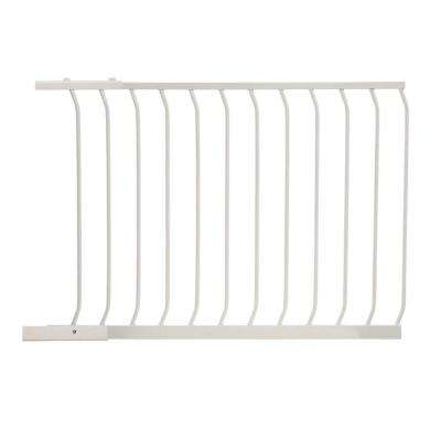 39 in. Gate Extension for White Chelsea Standard Height Child Safety Gate