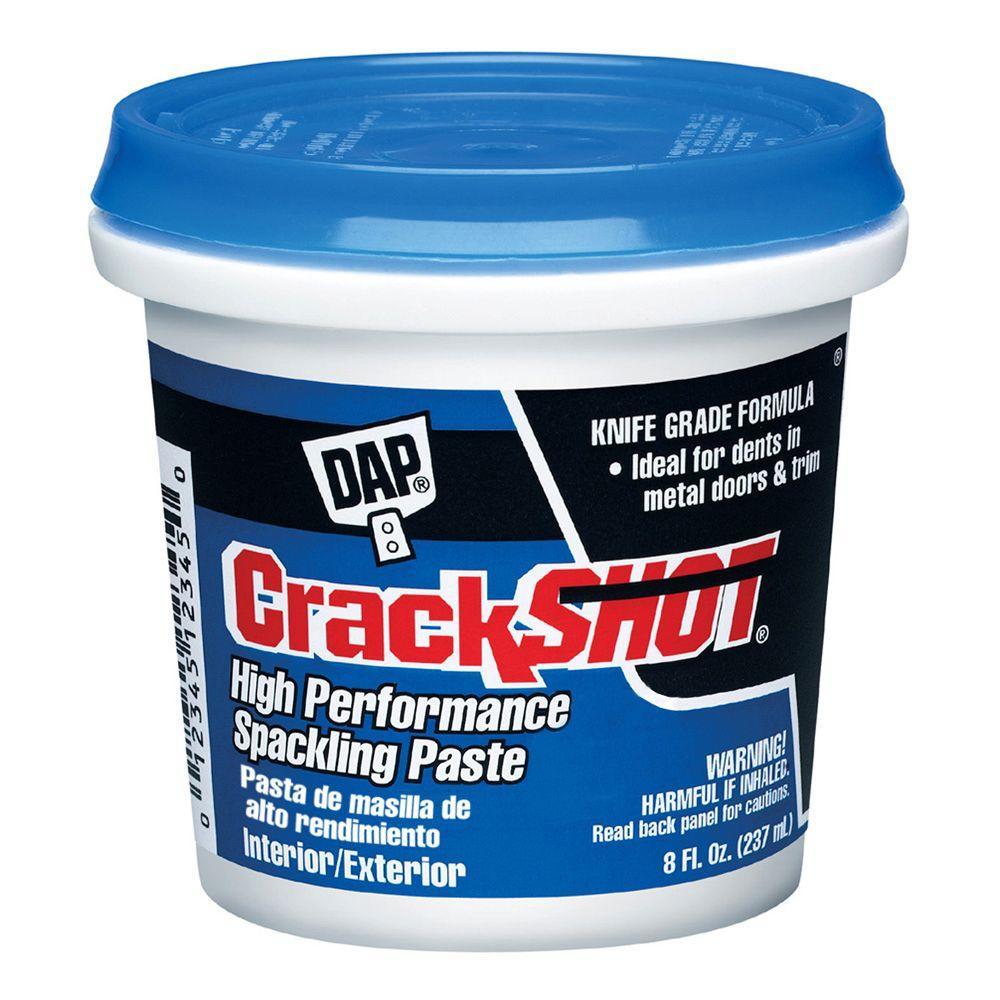 DAP 8 oz. Crackshot High-Performance Spackling Paste
