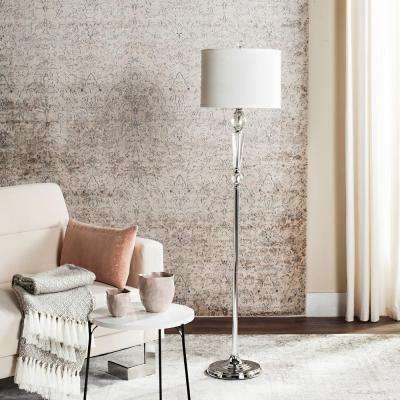 Savannah 60.25 in. Clear Floor Lamp