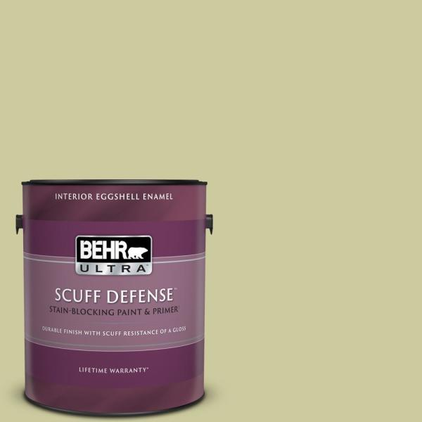 Reviews For Behr Ultra 1 Gal Mq4 41 Anjou Pear Extra Durable Eggshell Enamel Interior Paint Primer 275401 The Home Depot