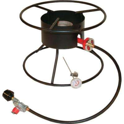 54,000 BTU Portable Propane Gas Outdoor Cooker for Large Pots