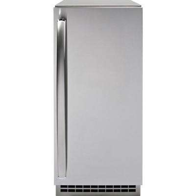 Profile Ice Maker Door Panel in Stainless Steel