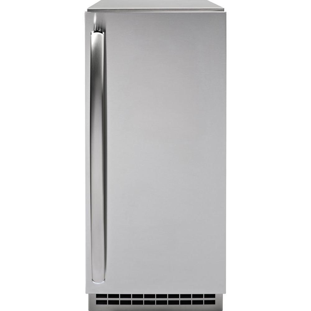 GE Profile Ice Maker Door Panel in Stainless Steel