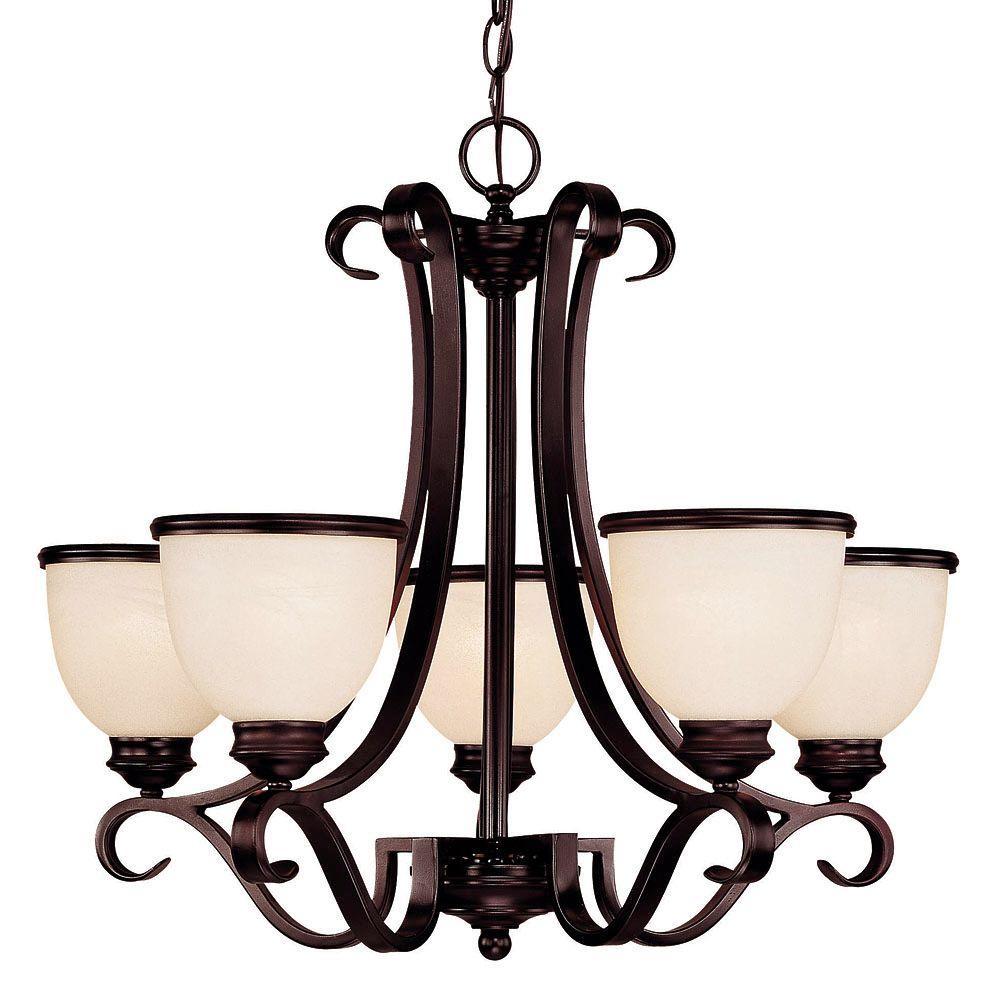 Illumine 5 light chandelier english bronze finish cream marble illumine 5 light chandelier english bronze finish cream marble glass arubaitofo Gallery
