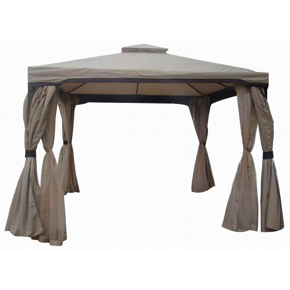Skyline 10 Ft X Nutmeg Gazebo