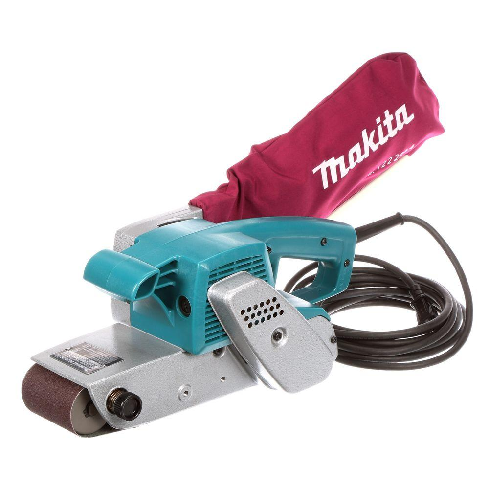 Makita 7 8 Amp 3 In X 24 In Corded Belt Sander 9924db