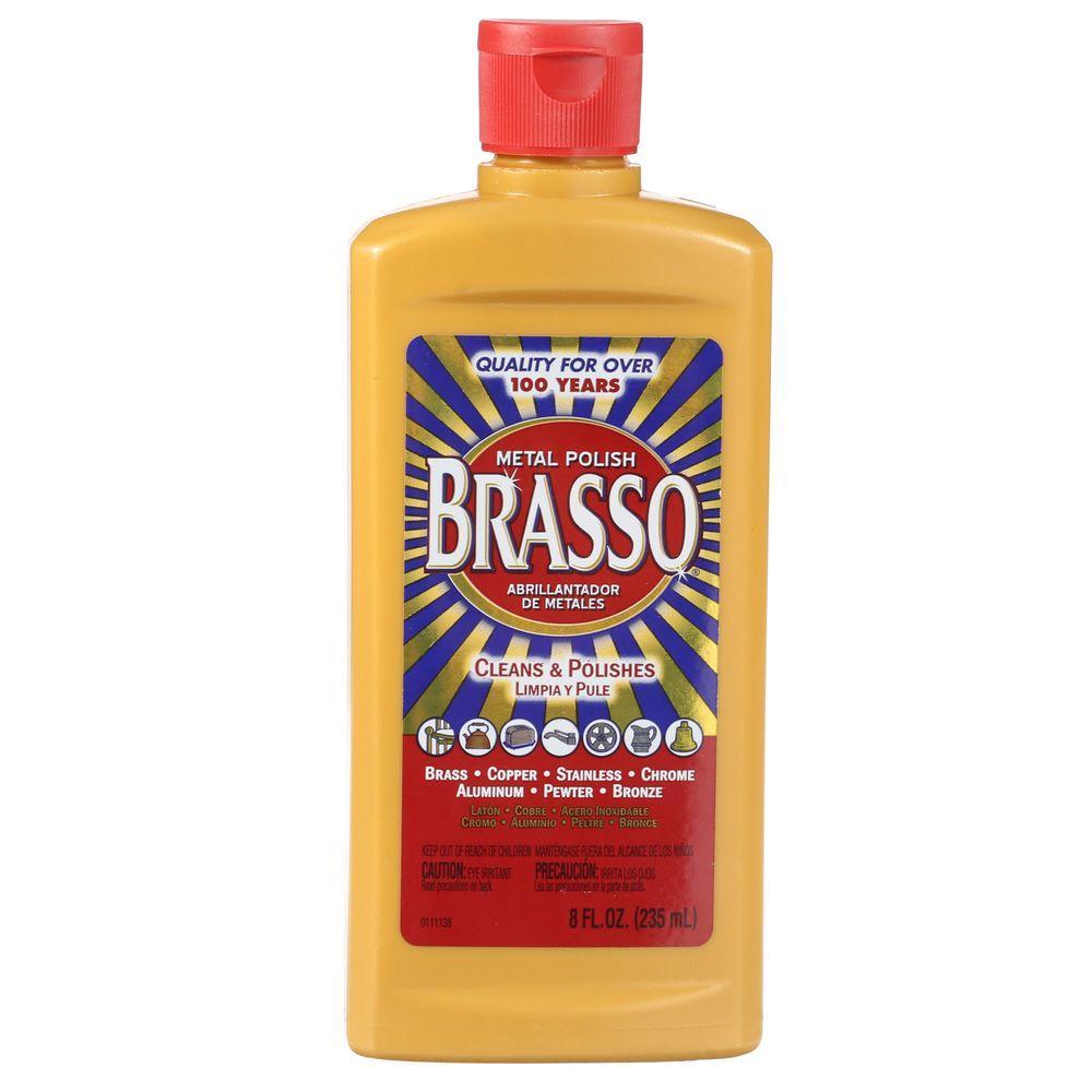 Brasso 8 oz  Metal Polish