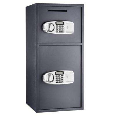 Lock and Safe Double Door Digital Depository Safe 3.16 CF Cash Drop Safe Security