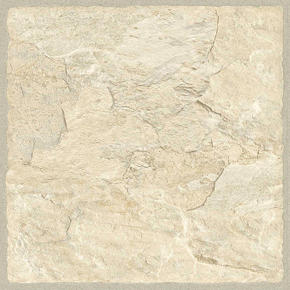 b2e6870fc TrafficMASTER Sedona 12 in. x 36 in. Luxury Vinyl Tile Flooring (24 ...