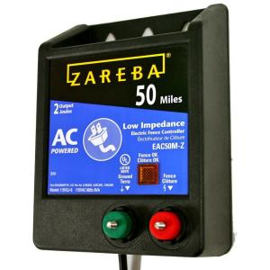 Zareba 50 Mile Ac Low Impedance Energizer Eac50m Z The