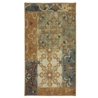Harmonic Patch Multi 1.5 ft. x 2.5 ft. Area Rug