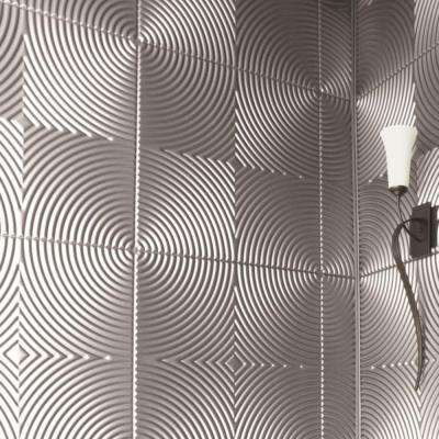 Captivating Decorative Wall Panel In Brushed Aluminum