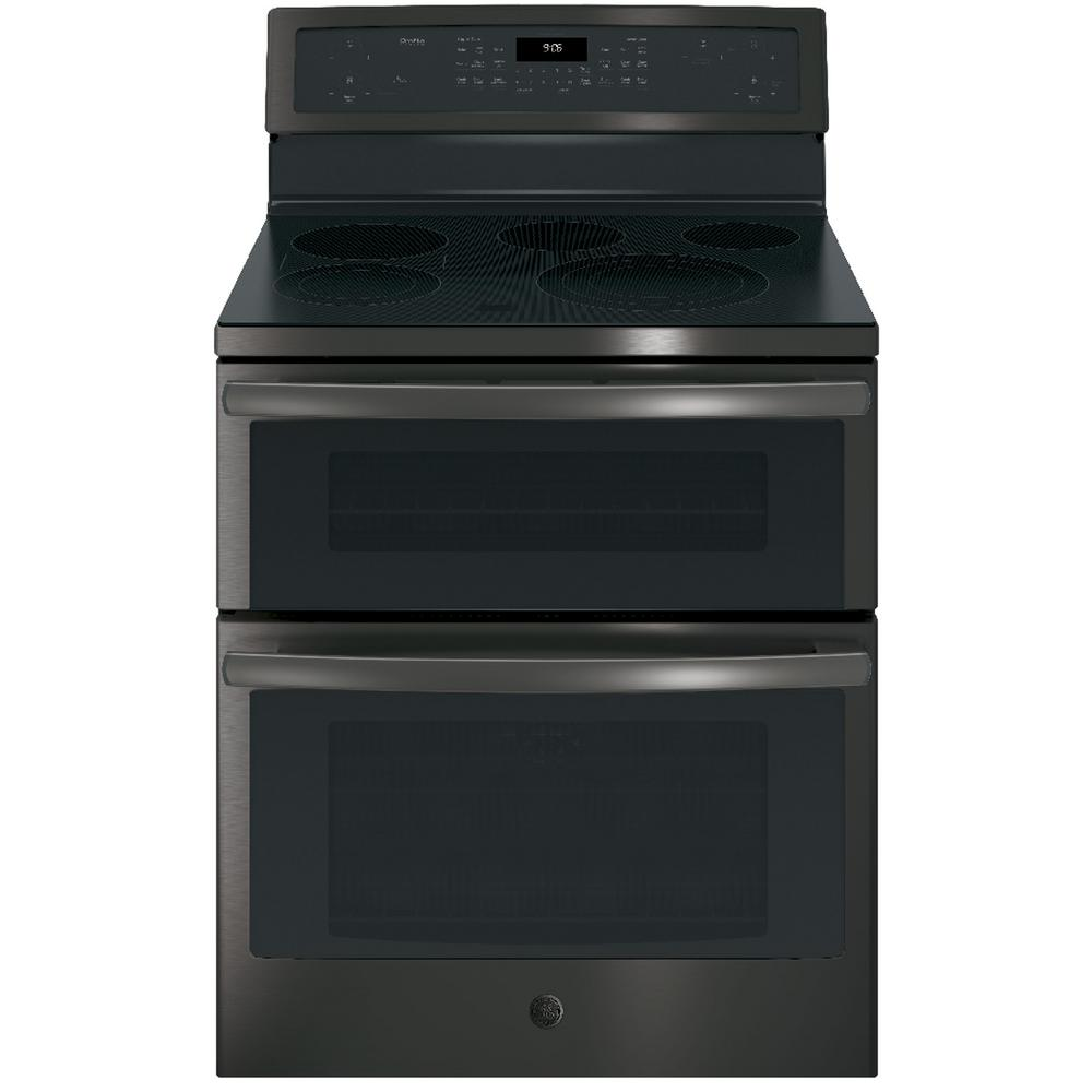 Profile 6.6 cu. ft. Double Oven Electric Range with Self-Cleaning and