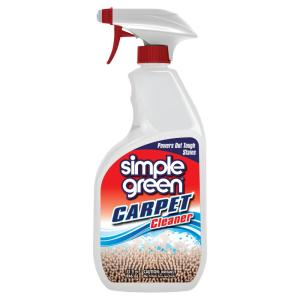 Simple Green 32 Oz Ready To Use Carpet Cleaner Case Of 12 0510001201032 The Home Depot