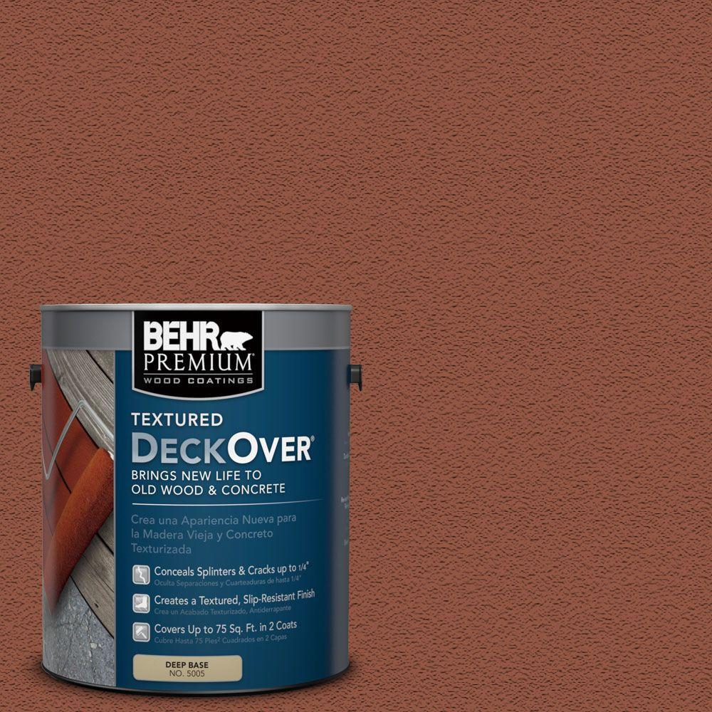 BEHR Premium Textured DeckOver 1 Gal SC 130 California Rustic Solid Color