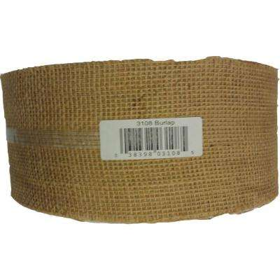 4 in. x 300 ft. Burlap Strip