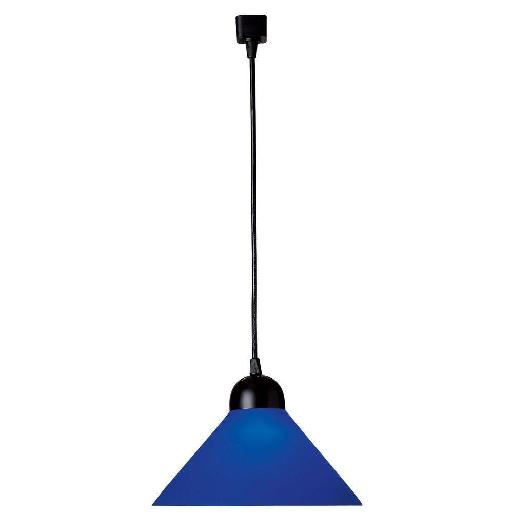 Juno Trac-Lites Line-Voltage Blue Decorative Pendant