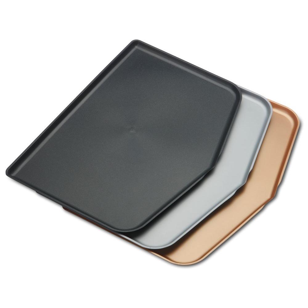 Chop Keeper 3-Piece Plastic Dishwasher Safe Cutting Board Set